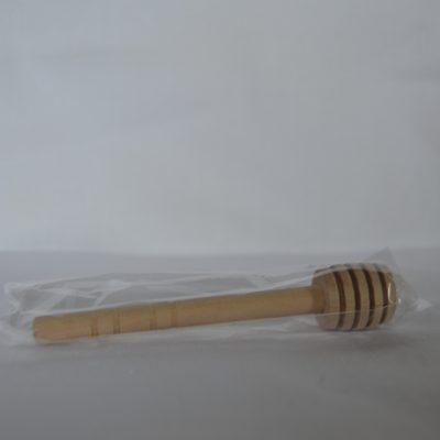 Cuchara madera pequeña con funda individual