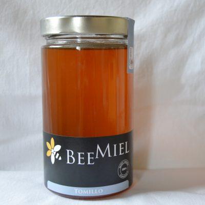Miel de Tomillo cruda natural, cosechada en parque natural de Aragón a 1.490 m altitud